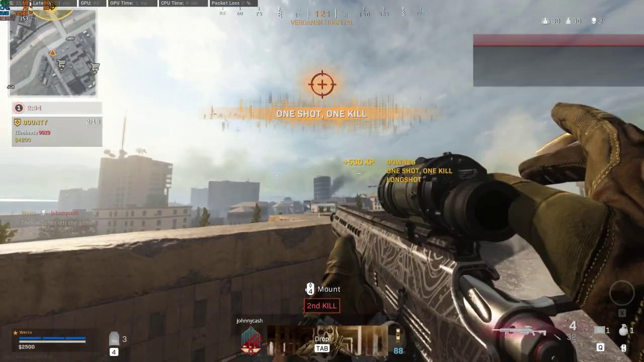 Call of Duty Warzone 250m Headshot - YouTube