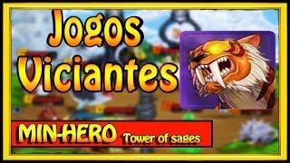 UM DOS JOGOS MAIS VICIANTES DA INTERNET MIN-HERO TOWER OF SAGES