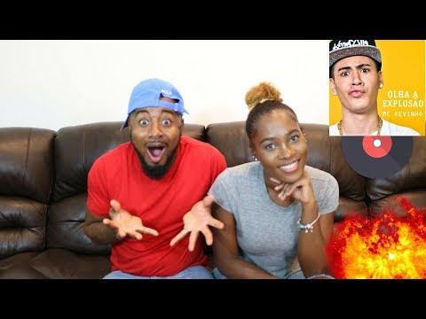 MC Kevinho - Olha a Explosão (KondZilla) Reaction 🇧🇷💙