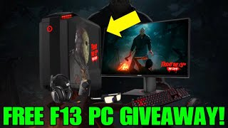FREE F13 GAMING PC GIVEAWAY!! | Friday the 13th: The Game