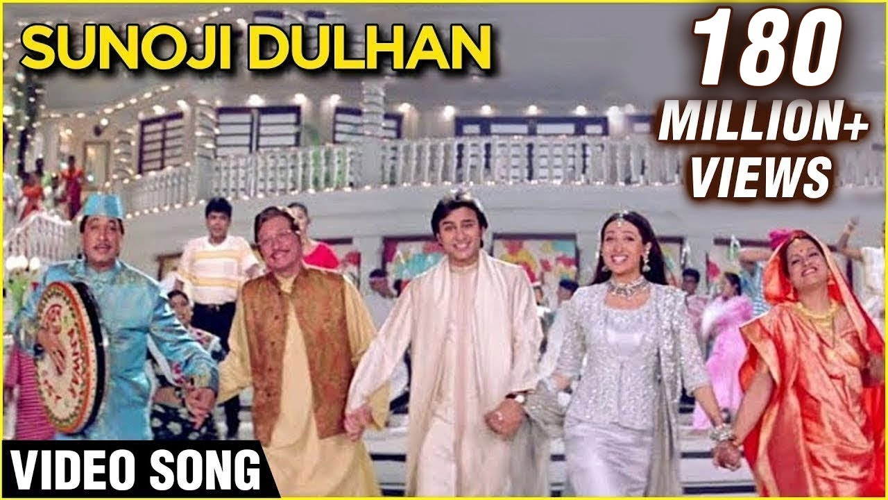 Sunoji Dulhan - Video Song | Hum Saath Saath Hain | Super Hit Marriage Song | Bollywood Song