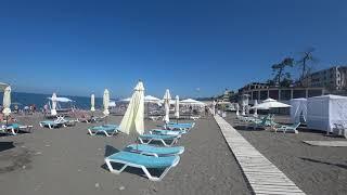 Пляж Ривьера Сочи  13 06 2018  Отдых в Сочи  Сочи онлайн  Погода в Сочи