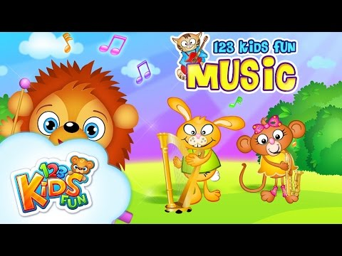123 Kids Fun Music  Music Instruments  Gameplay  Piano&Xylophone for Kids