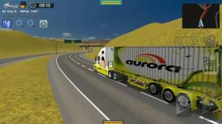 Grand Truck Simulator - Skin da aurora : Transporte de Congelados para Rafard