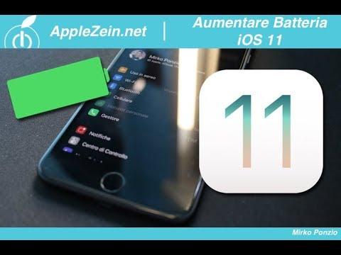 Ecco come aumentare la durata della batteria di iPhone con iOS 11