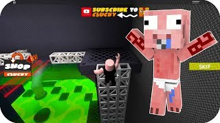 BABY EACH ESCAPES FROM THE ALIENS 1-2 - ROBLOX EACH EXHAUST AREA 51 OBBY