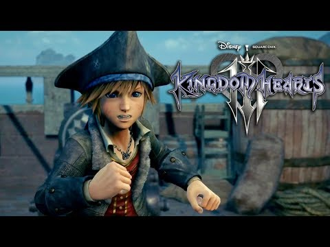 Kingdom Hearts III - Pirates of the Caribbean Trailer   E3 2018
