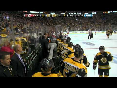 Gotta See It: Pastrnak explodes water bottle with top-shelf goal
