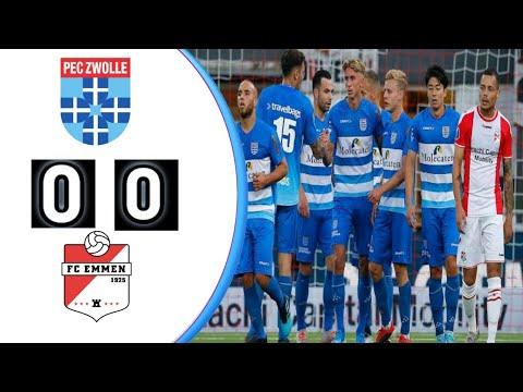 Pec Zwolle 0 0 Fc Emmen Hihglight Netherlands Eredivisie Match Resume And Result Score Pes 2021 Youtube