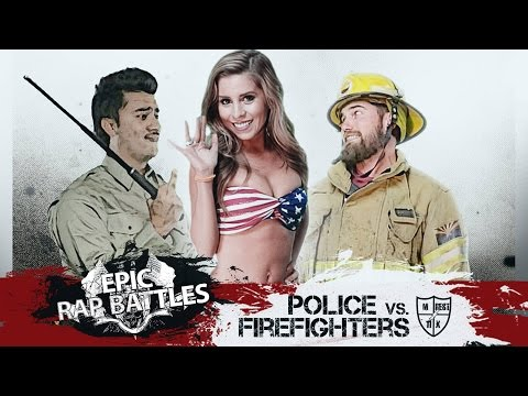 Epic Rap Battle: Police Vs. Firefighter