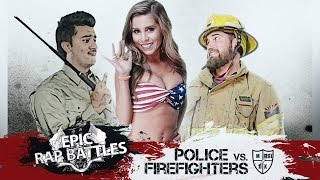 Repeat youtube video Epic Rap Battle: Police Vs. Firefighter