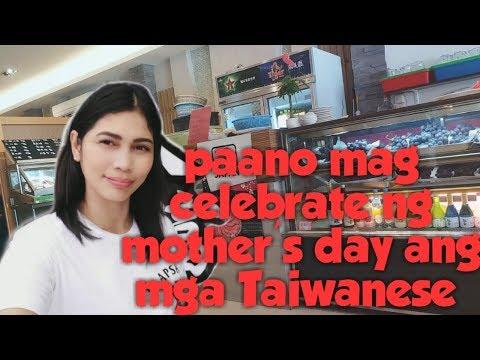 Paano mag celebrate ng Mothers Day ang mga taiwanese