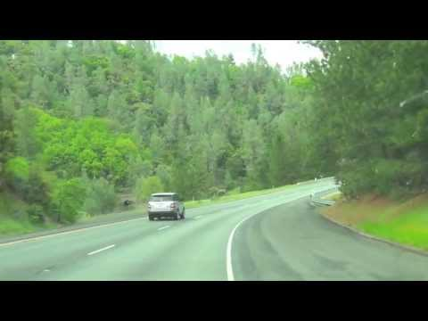 I-5 Shasta Lake, California State - Beautiful Trip Way