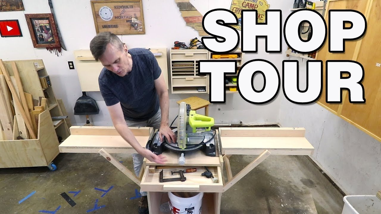 How to turn any space into an awesome workshop. My biggest shop upgrade in 19 years!