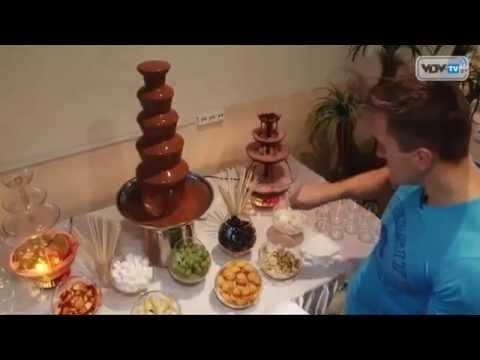 Шоколадный фонтан «Наслаждение». Домашнее шоколадное фондю на .