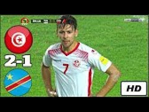 Tunisia Vs Congo 2-1 - All Goals & Highlights   World Cup Qualification CAF - 1/9/2017 [HD]