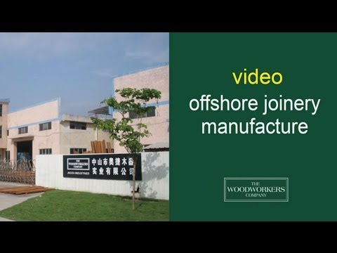 woodworkers offshore joinery manufacture  - by The Woodworkers Company