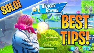 GET BETTER AT SOLO FORTNITE! How to Win in Fortnite Battle Royale! (Ps4/Xbox One Tips and Tricks)
