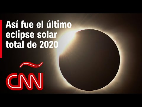 Así se vio el eclipse solar total en el hemisferio sur