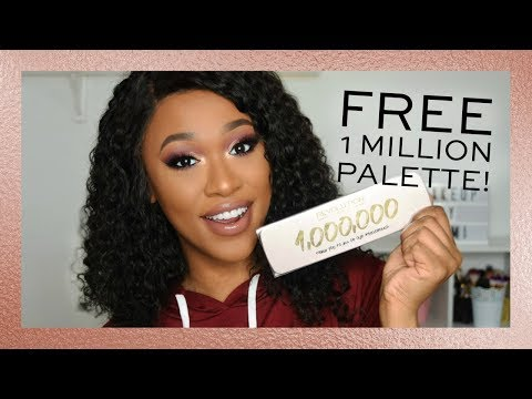 REVOLUTION | FREE 1 MILLION PALETTE + SMOKEY EYE TUTORIAL