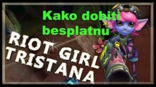 FREE SKIN - Rİot Girl Tristana!