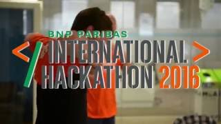 BNP Paribas International Hackathon - week-end of 17-19 June 2016