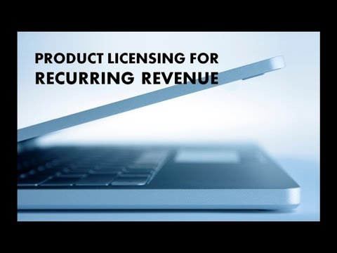 Turn Your Ideas Into Recurring Revenue