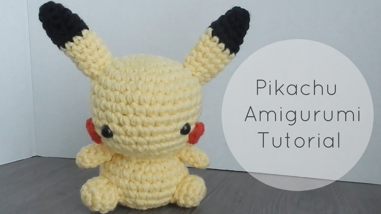 Amigurumi Olaf Tutorial : Amigurumi pikachu tutorial youtube