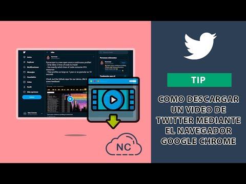 Como Descargar un Video de Twitter Mediante el Navegador Google Chrome