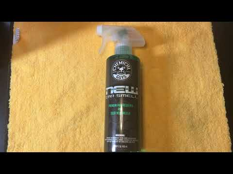 Chemical Guys New Car Smell Premium Air Freshener Review