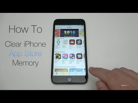 Thumbnail: How To Clear iPhone App Store Memory