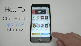 How To Clear iPhone App Store Memory
