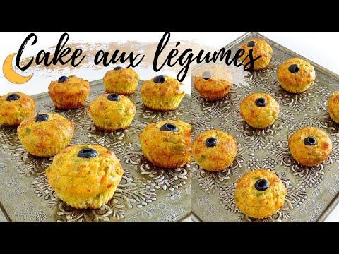 mini-cake-salé-aux-légumes-,-olives-&-thon--recette-facile-et-rapide-spécial-ramadan-2020
