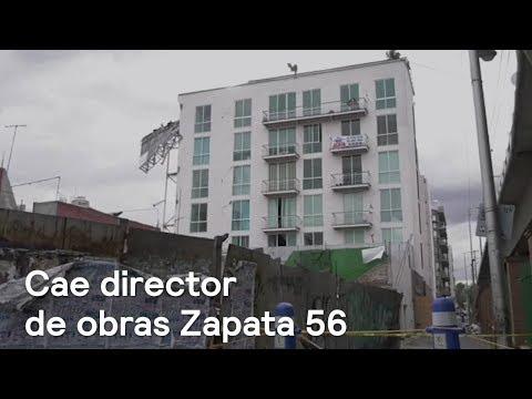 Cae director de obras de edificio en Zapata 56 - Noticias con Karla Iberia