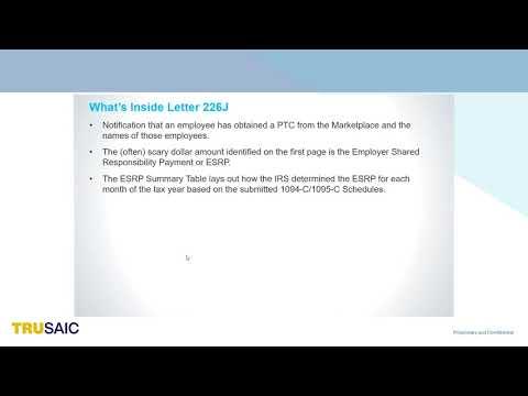 What's inside Letter 226J - Webinar - Trusaic