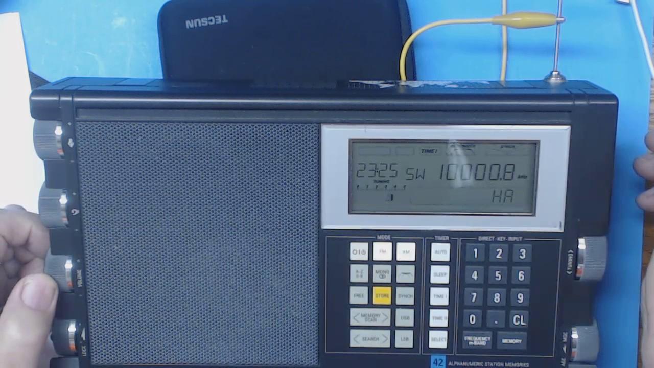 Trrs 1094 Grundig Satellit 500 Shortwave Radio Pt 5 Youtube