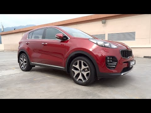 2016 Kia Sportage 2.0 GT Line Start-Up and Full Vehicle Tour