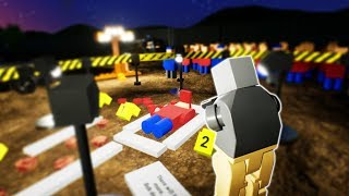 LEGO CRIME SCENE INVESTIGATION! - Brick Rigs Gameplay Roleplay - Lego Cops Movie!