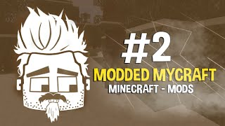 ماين كرافت: #ماي_كرافت مودات - Minecraft: Modded MyCraft - #2 - الدنجن