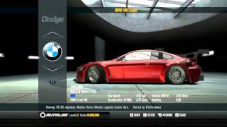 Shift 2 Unleashed - All Works Cars Garage - 1080p HD