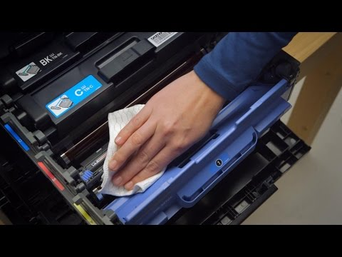 How to Clean your Brother Colour Laser Printer