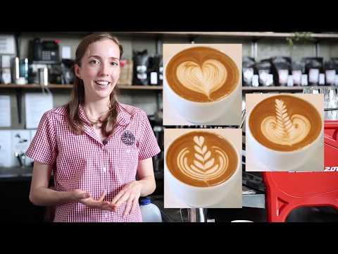 Latte Arts' three main Designs