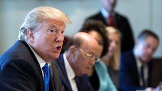 Trump tells senators: 'You're afraid of the NRA'