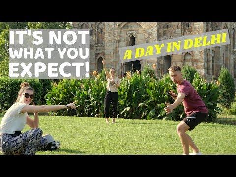 Delhi, Humayun's Tomb and Lodi Gardens   Travel Vlog!
