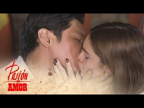 Pasion de Amor: Franco kisses Jamie
