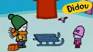 Luge - Didou dessine-moi une luge   Dessins animés pour les enfants
