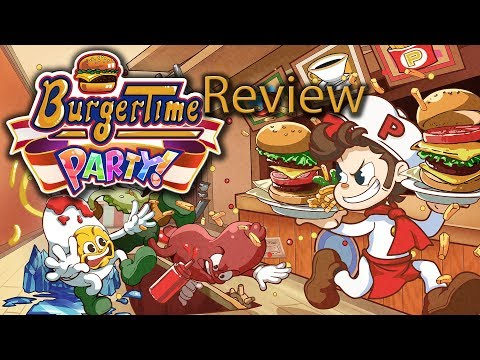 BurgerTime Party Gameplay Review Nintendo Switch