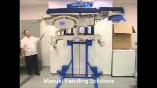 pembury hospital new hospital maintenance bed lift 8 from manual handling solutions