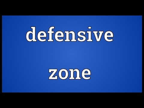 Defensive zone Meaning
