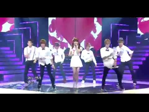 IU & Teen Top ~ Kissing You Special Stage S-B-S Inkigayo 110911